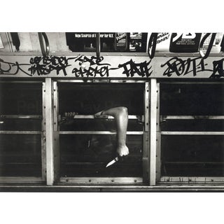 "John Conn ""Subway 37"" Limited Edition Black and White Photograph, NYC, 1980s For Sale"