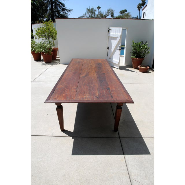 19th C. Portuguese Rosewood Dining Table For Sale - Image 4 of 11