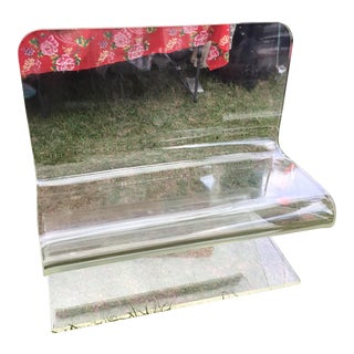1960s Vintage Lucite Bench For Sale