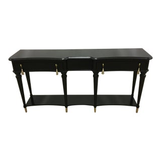 """Hooker Furniture Black and Gold """"Lulu"""" Console Table"""