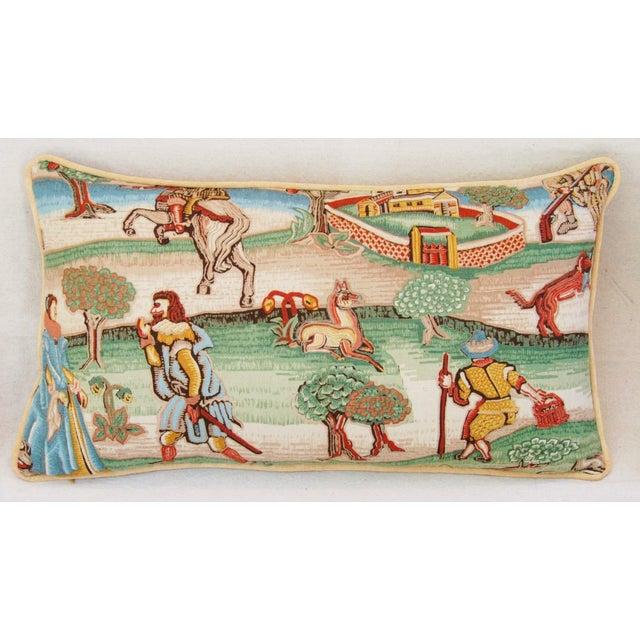 Designer Brunschwig & Fils Pillows - Pair - Image 4 of 8
