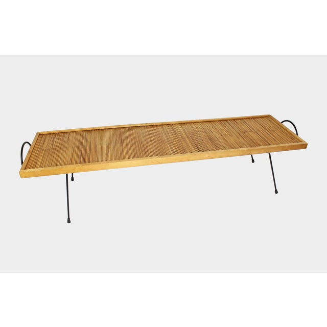 Mid-Century Modern Laverne Originals Mid-Century Dowel Coffee Table For Sale - Image 3 of 11