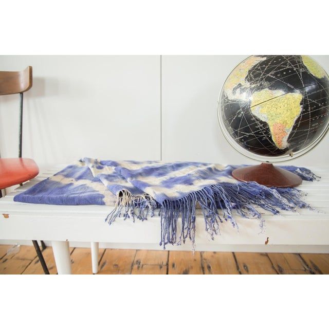 """Vintage African Textile Throw - 3'3"""" X 6'4"""" - Image 5 of 7"""