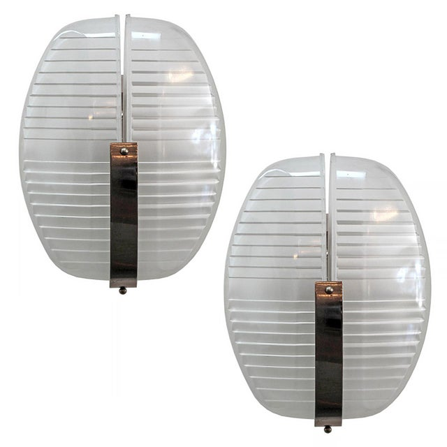 Pair of Vico Magistretti Wall Lights For Sale - Image 11 of 11