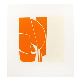 "Joanne Freeman ""Covers 1 Orange"", Print For Sale"