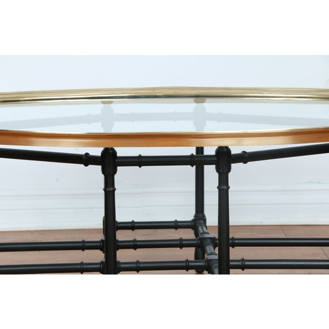 Bamboo Base Coffee Table - Image 6 of 10