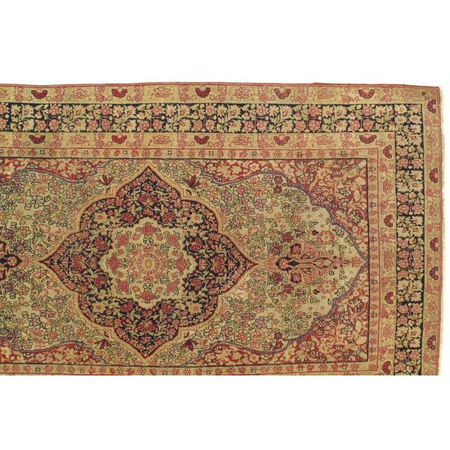 Late 19th Century Antique Persian Kermanshah Rug - 3′1″ × 6′5″ For Sale - Image 4 of 5