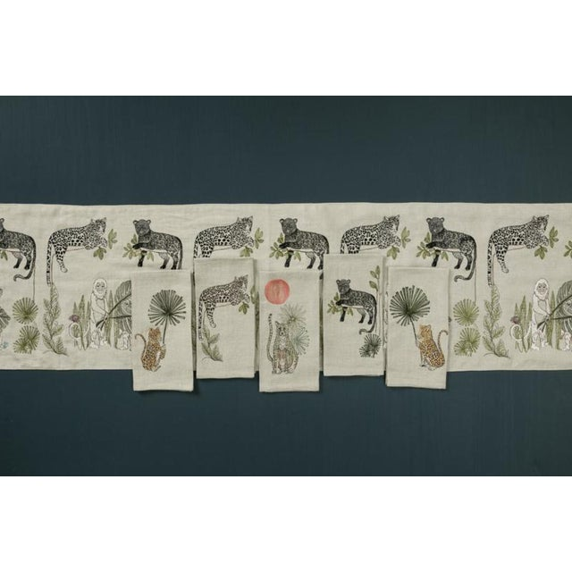 Panther Perch Tea Towel For Sale - Image 4 of 6