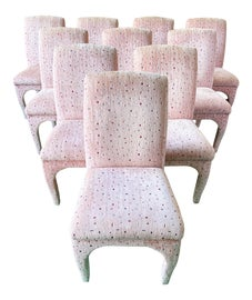 Image of Newly Made Pink Dining Chairs
