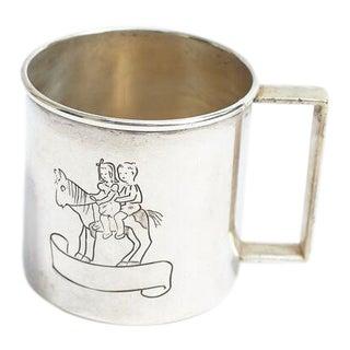 Vintage Silver Baby Cup