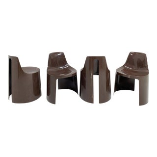 1970s Umbo Stacking Chairs by Kay LeRoy Ruggles - Set of 4 For Sale