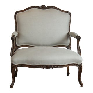 1940s Vintage Louis XV Style Settee For Sale