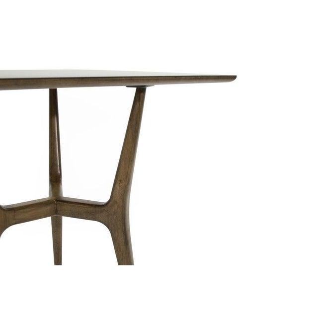 Mid-Century Modern Asymmetrical Walnut Desk For Sale - Image 12 of 13
