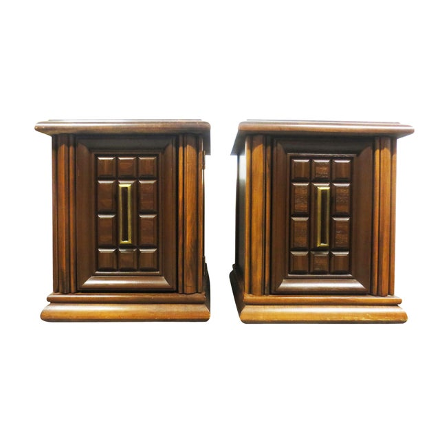 Mersman Side Tables or Nightstands - A Pair - Image 3 of 9