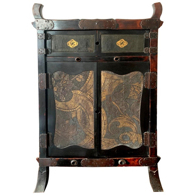 Japanese Traveling Cabinet Oi Edo Period For Sale - Image 13 of 13