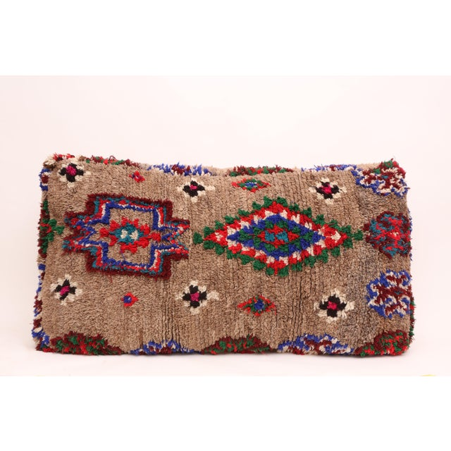Double Moroccan Floor Pillow For Sale - Image 5 of 5