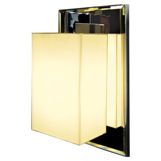 Coco Deluxe Ap Chrome Wall Sconce For Sale
