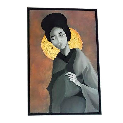 Geisha Painting - Image 1 of 3