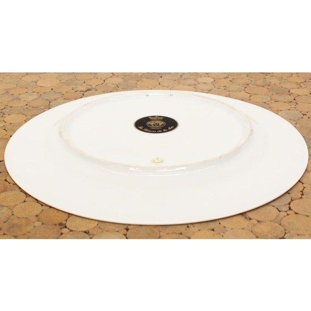 Early 21st Century Rosenthal Versace Porcelain Charger Plate For Sale - Image 5 of 7