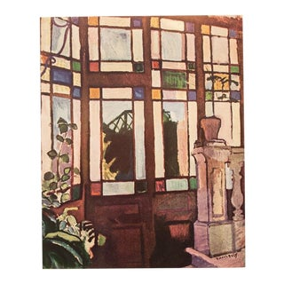 1954 Raoul Dufy, Window With Colored Panes Vintage Lithograph For Sale