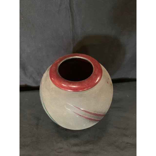 Michael Cho Studio Pottery Vessel For Sale - Image 4 of 6