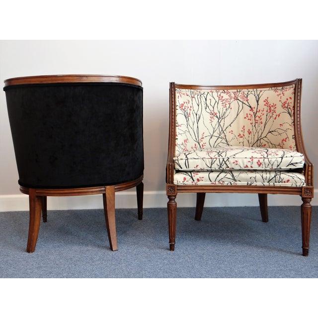 Louis XVI Barrel Chair - A Pair - Image 5 of 8