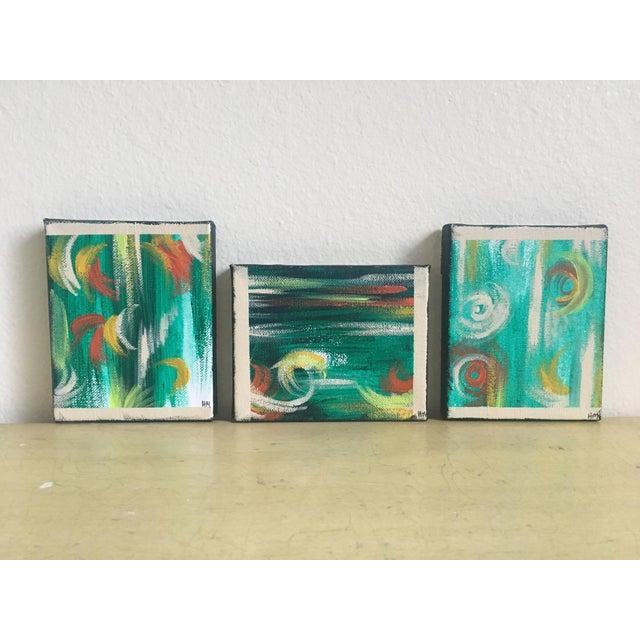 """Imbue"" No. 1, 2 & 3 Modern Series Paintings - Image 3 of 7"