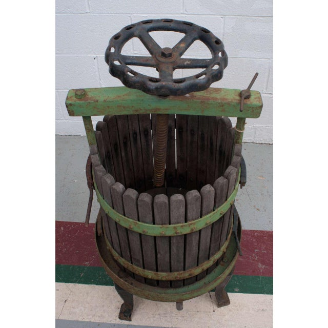Rustic 19th Century Wine Press From Eger, Hungary For Sale - Image 3 of 6