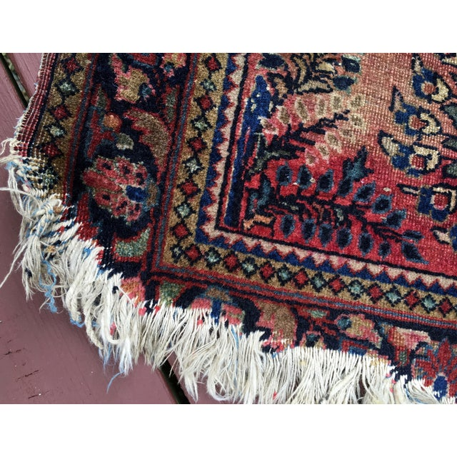 1920s Hand-Knotted Runner - 2′ × 6′ - Image 11 of 11