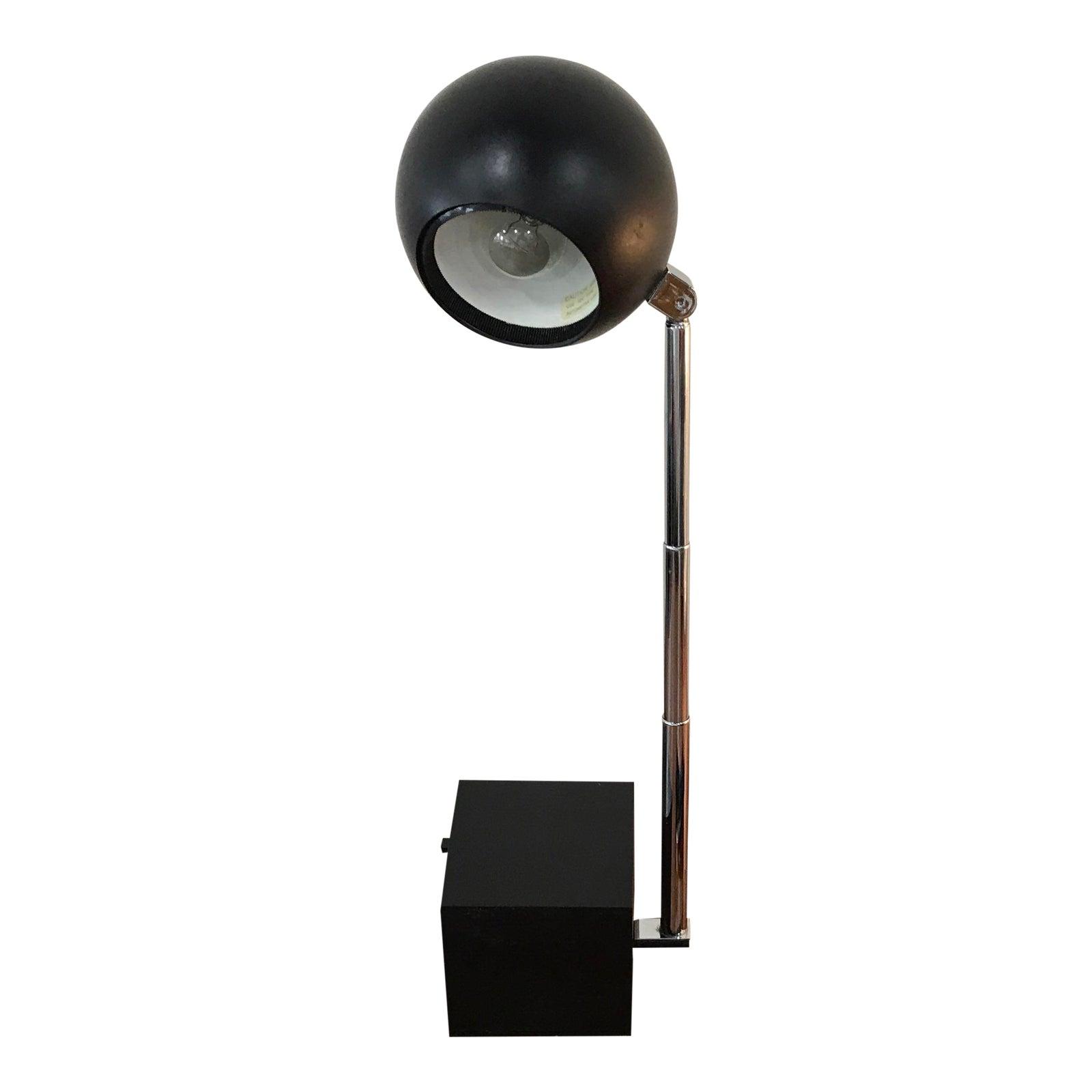 modern mid chrome lighting items century lamp eyeball modernism mg floor lamps