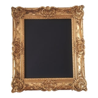 """Early 20th Century English Style Openwork Frame 25 1/4"""" X 31 1/8"""" For Sale"""