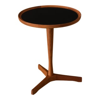 Danish Teak Hans Andersen Round End Table For Sale
