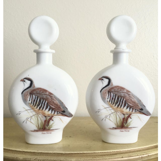 """1969 Field Bird"" Quail Decanters - a Pair - Image 2 of 10"
