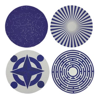 Constellations Coasters, Set of 4 For Sale