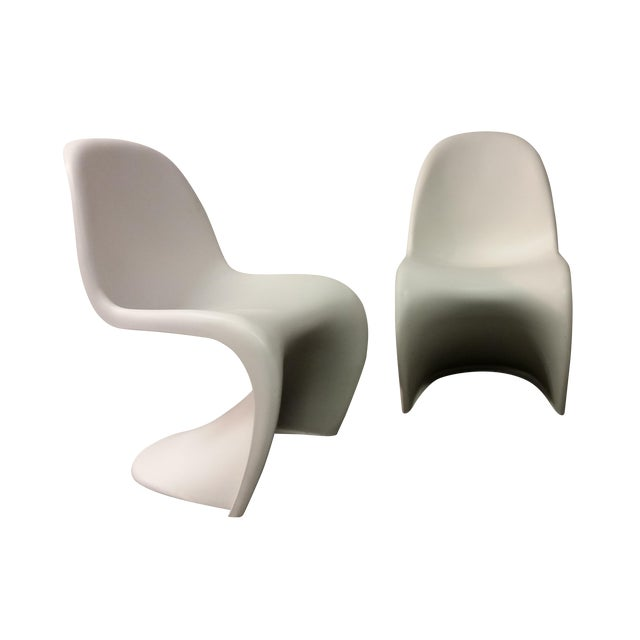 Mid-Century Verner Panton Chairs - A Pair - Image 1 of 6