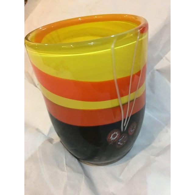 Michael Segerberg for Larson Signed Art Vase - Image 2 of 8