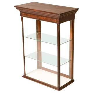 Victorian Display Case For Sale