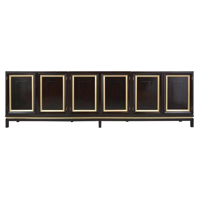 Mid-Century Modern Ebonized Credenza For Sale - Image 13 of 13