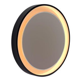 Large decorative round mirror