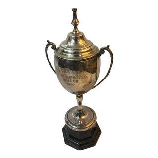1997 Most Improved Golfer Uvex Trophy Cup For Sale
