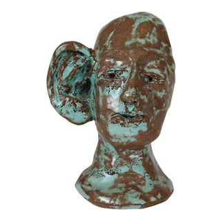 Studio Art Face Sculpture Planter