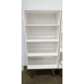 Modern West Elm White Bookcase Preview