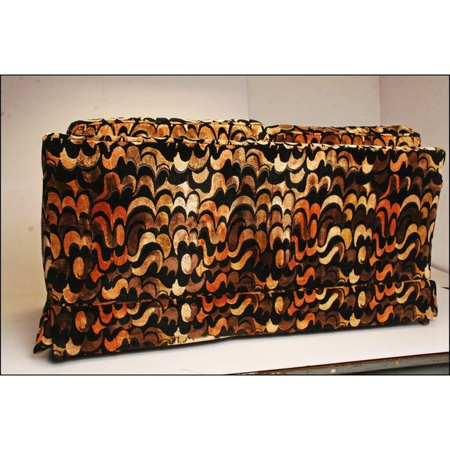 Mid-Centuryack Lenor Larsen Upholstered Loveseat - Image 5 of 11