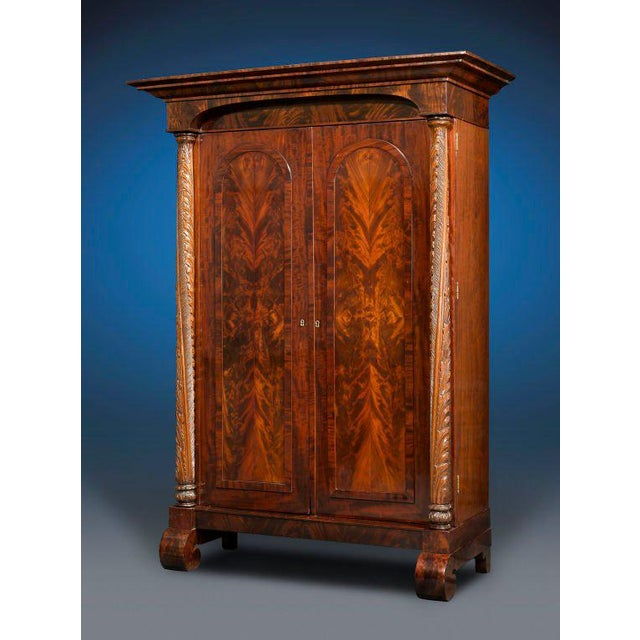 American Empire Armoire For Sale - Image 4 of 5
