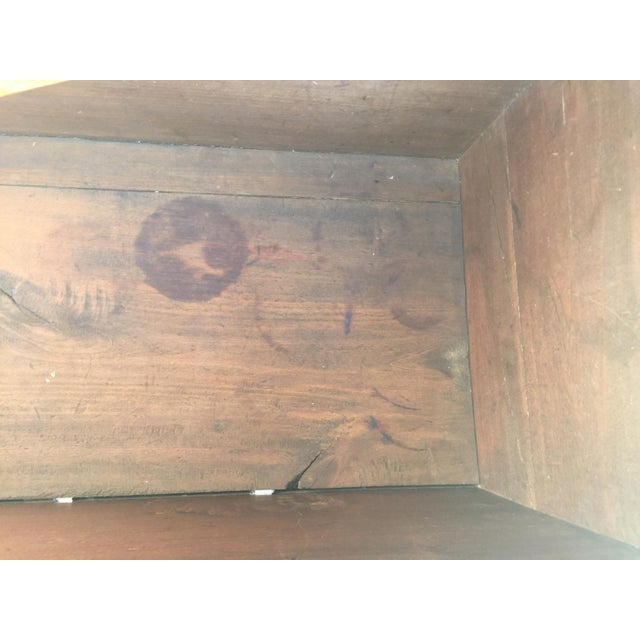18th Century American Cherry Blanket Chest Trunk For Sale - Image 9 of 12