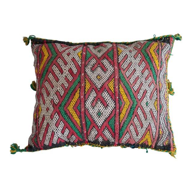 Handmade Berber Pillow - Image 1 of 4
