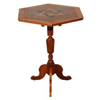 American Folk Art Occasional Table