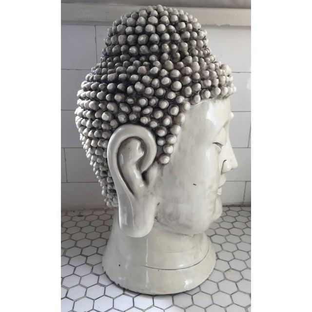 Chinese Blanc De Chine Buddha Head - Image 6 of 9