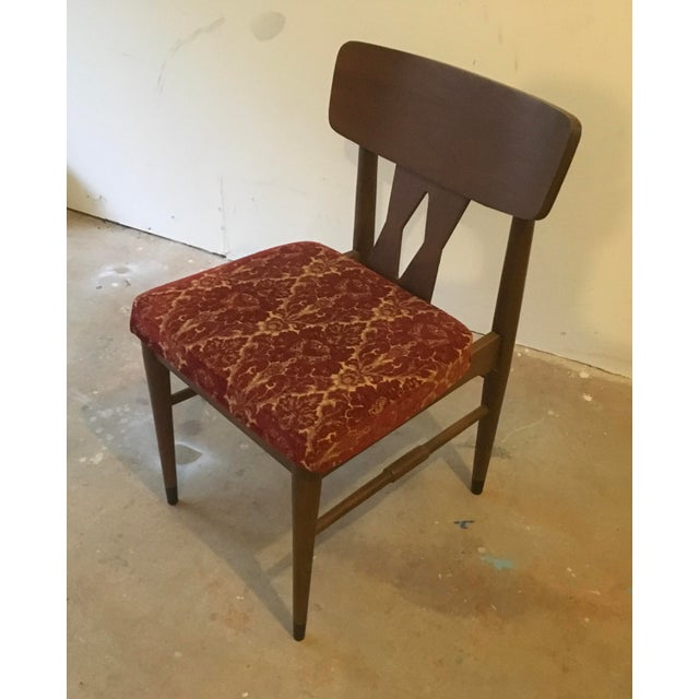 Vintage Modern Danish Style Dining Chairs - Set of 6 - Image 7 of 10