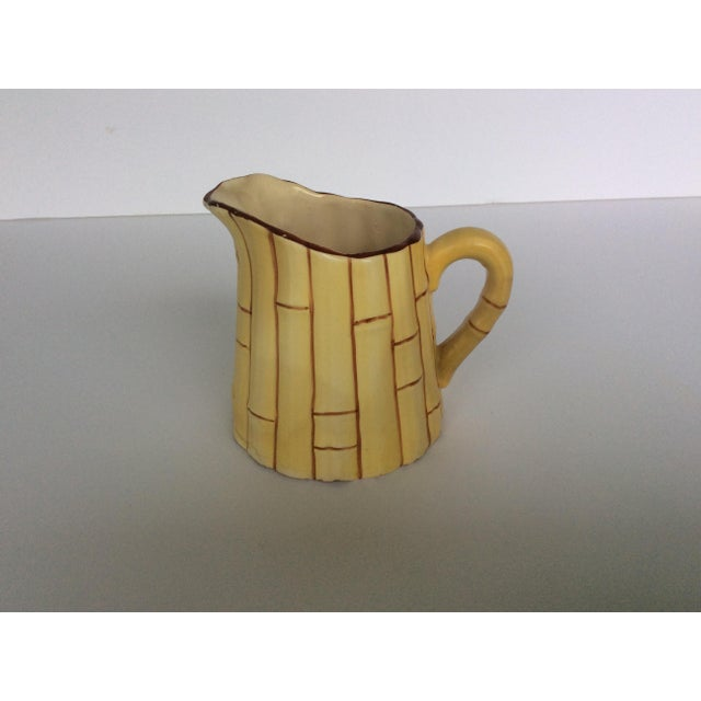 1920s Antique Czechoslovakian Cream Pitcher For Sale - Image 5 of 5